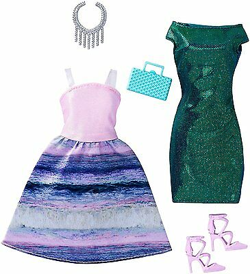 "New! 2017 Barbie Complete Look Fashion 2-Pack ""mermaid"" Fits Original Doll"