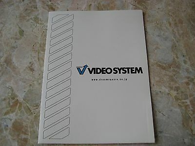 Video System PlayStation2 & Dreamcast Press Kit Folder F1 World Grand Prix Promo
