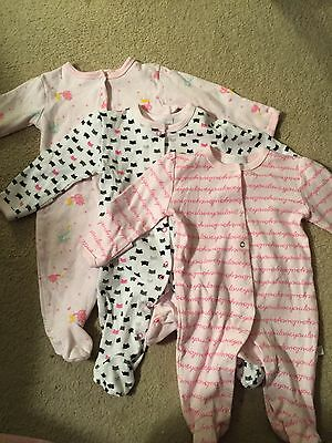 3 Rosie Pope Baby Body Suit, 0-3 Months, Cute!