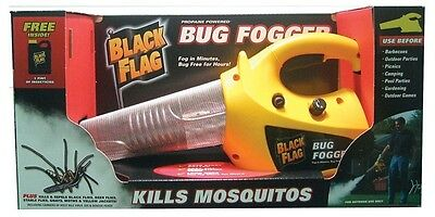 Black Flag Propane Insect Fogger, Kills Mosquitoes And Flying Insects