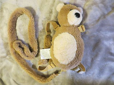 EDDIE BAUER Toddler Safety Harness plush BEAR  Restraint Leash Backpack FAST S/H