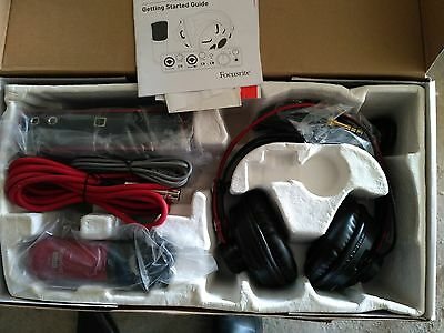 Focusrite Scarlett Studio USB Audio Interface and Recording Bundle