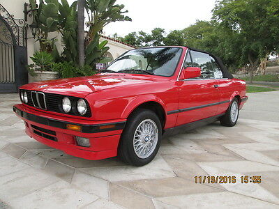 1992 BMW 3-Series Convertible 2 Door 1992 BMW 325 IC e30 auto 159k Miles Clean Title Runs  & Drives Xclnt Must See