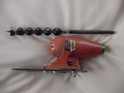 Atom Chainsaw Borer with Auger