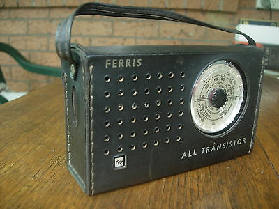Ferris 7 Transistor Am Radio In Very Good Codition *******can Post*****