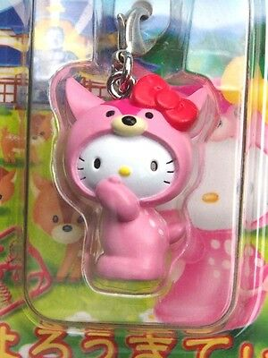 [New] Sanrio Hello Kitty NARA DEER Ver. Cell Phone Strap / Charm Mascot