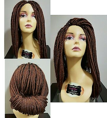 Fully Hand Braided Wig- Braid Lace Front Wig For Black Women- Box Braids Wig-#30