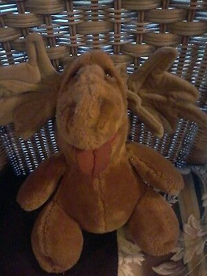Vintage 1985 Heritage Collection Ganz Bro. Wrinkles Plush Puppet  Exc. Condition