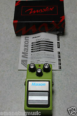 Maxon SD9 Sonic Distortion pedal for electric guitar like new in box
