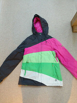 Ladies ROXY Ski Skiing Snowboard Jacket Size M