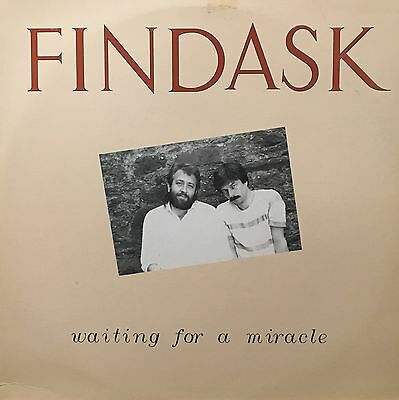 FINDASK Waiting For A Miracle Temple Records LP TPO26 + Song Sheet