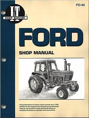 Ford New Holland 5000 5600 5610 Tractor Service Repair Workshop Manual