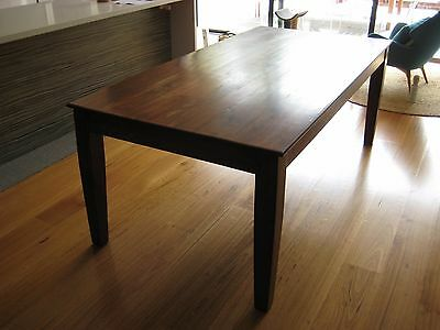 Table (Solid hardwood dining table)