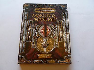 Monster Manual Dungeons and Dragons 3.5 D&D
