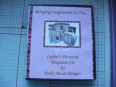 Crafter's Favourite Templates Cd By Debbi Moore Designs