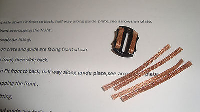 Scalextric Spares Copper Braids Pack Of Four 50Mm Drift Car. Slot Car Brushes