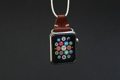 Leather Necklace for Apple Watch