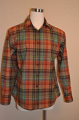 Pendleton Men's FITTED  LODGE Shirt -Color Smoky Mountain - Size/ X Large