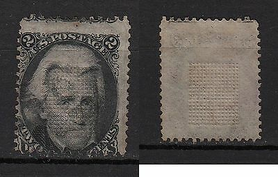 126a**USA-ETATS-UNIS (Timbre-Classic stamp) JACKSON 1863 United-STates