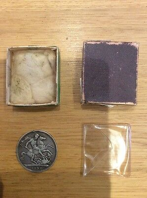 Coin - 1892 - Queen Victoria - With Box
