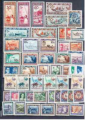 Indonesia Lot  Local Post   Mnh