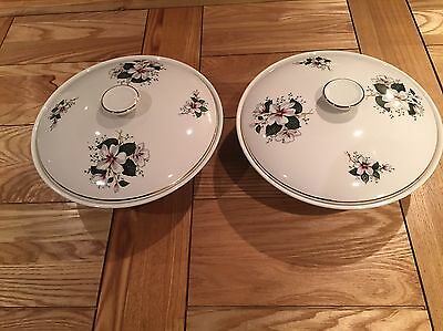 Saraband By Ridgway. 2 Serving Dishes With Lids