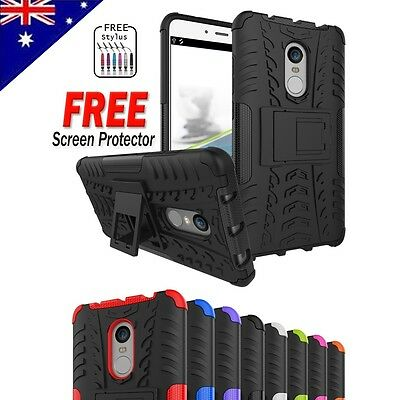 For Xiaomi Redmi Note 4 4X Heavy Duty Shockproof Kickstand Tough Case Cover