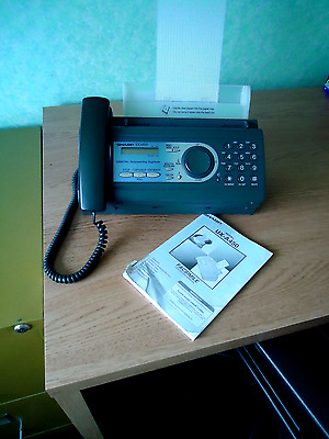 Sharps Fax Machine UX-A450 Very Good Condition with Answering Machine