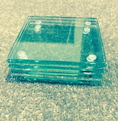 6mm Clear Glass Coasters