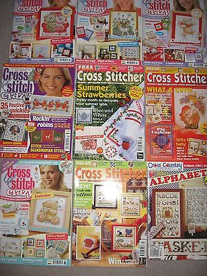 7. Cross Stitch Magazines Collection x 9 issues – Excellent!!!