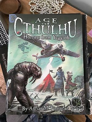 Age of Cthulhu: Horrors from Yuggoth. Call of Cthulhu Adventure Scenario