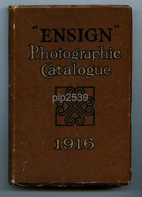 Ensign Photographic Catalogue 1916 - Adverts & Articles - 176 Pages