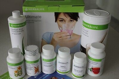 Herbalife Ultimate Pack + EXTRA FORMULA 1 SHAKE
