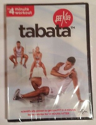 NEW TABATA 4 minute workout DVD
