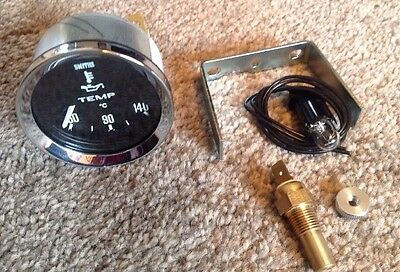 New Smith Oil Temperature Gauge With Sender