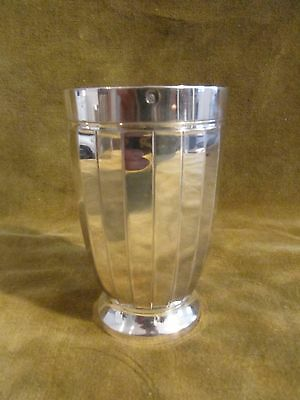 1925 french sterling silver (950) minerve baby cup / beaker 83g art deco st