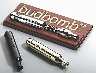 BUDBOMB tobacco pipe with extended smoke path in -BLACK- Patchouli... -Brand NEW