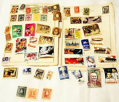 Stamps - Russian Empire & Ussr Mixed Collection (Pre 1989)