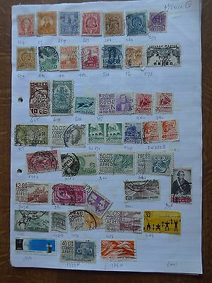Mexico - Various Stamps