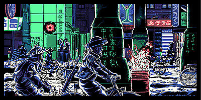"""BLADE RUNNER """"If Only You Could See What I've Seen"""" print by Tim Doyle /Nakatomi"""