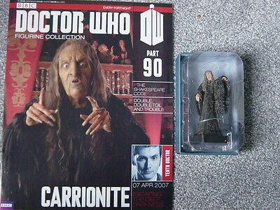 Doctor Who  Figurine Collection  Issue 90  Carrionite   Good Condition