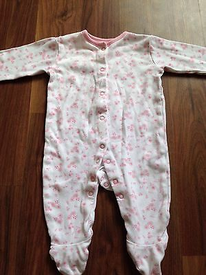 George Baby Girl Sleep Suit Aged 3-6 Months
