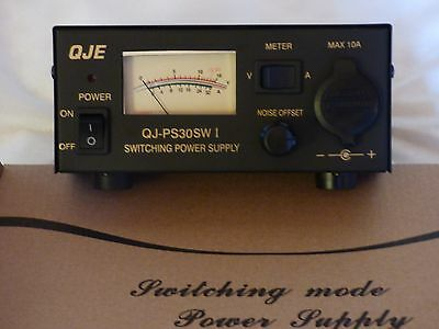 Switching Power Supply QJE PS30SWI DC with Cigar Plug Terminal  FINAL OFFERING