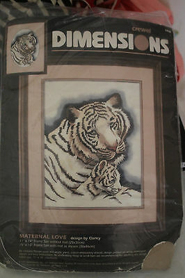 BN Dimensions Maternal Love Tiger Kit-CLOSING DOWN SALE WITH FREE POSTAGE