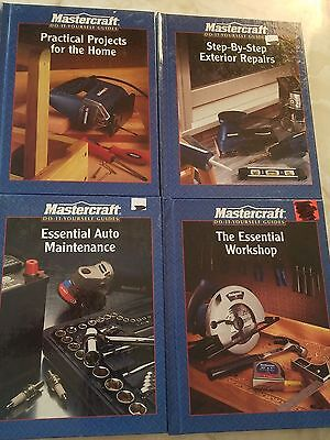 (LOT of 4) Mastercraft Do-It-Yourself Guides Auto Maintenance/Workshops/Repairs