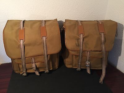 Vintage Bicycle Bags sacoches Herse Singer Berthoud Randonneuse Lafuma Sologne