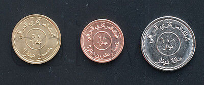 Iraq 3 Coins Set 2004 Unc (№246)