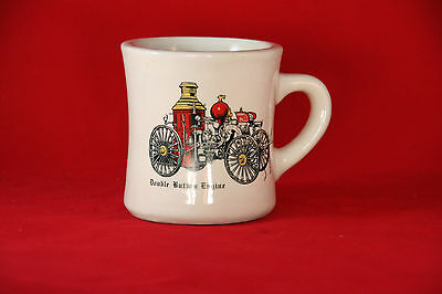 Fire Engine Coffee Cup Double Button Engine