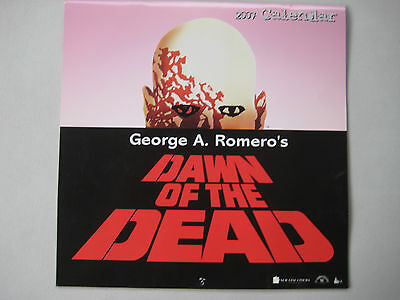 DAWN OF THE DEAD 1978 George Romero Official Horror Movie CALENDAR Zombies