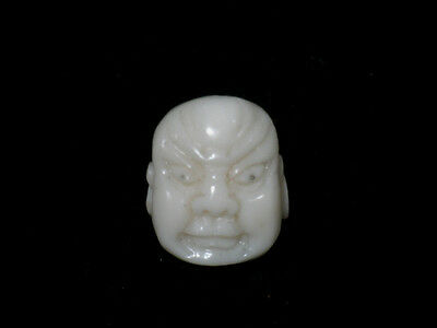 Beauty Hand CARVING CAMEO ~(coral) ~21.5mm*18mm(ec277).